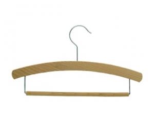 Children`s hanger with an L hook  - waxed