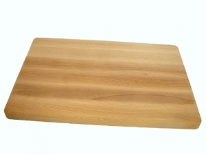 Dřevěné kuchyňské prkénko s úchopy 350x250x25 mm