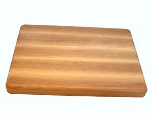 Dřevěné kuchyňské prkénko s úchopy 450x300x25 mm