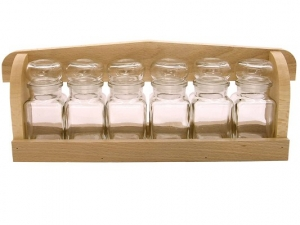 Spice rack 6x120 ml