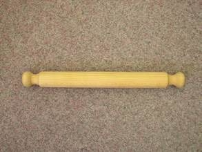 Rolling pin - shaped ends