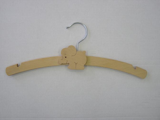 Children´s hanger with animal motive