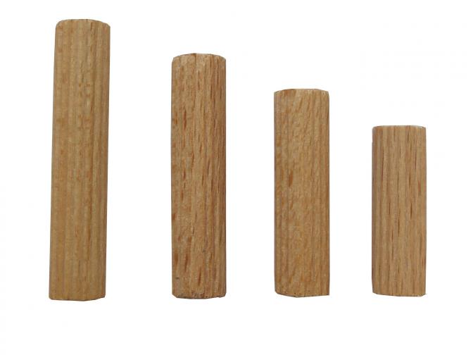 Dřevěné spojovací kolíčky 8x40 mm vr.