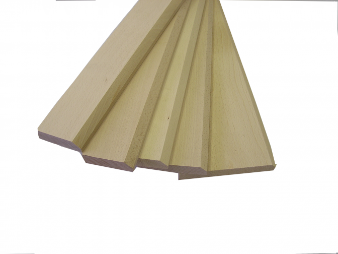Dřevěný dveřní práh 60/7,5 cm